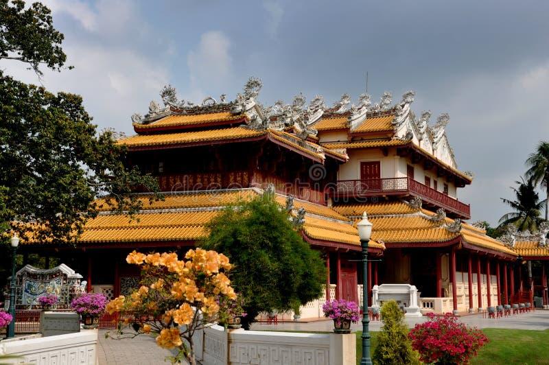 Download Bang Pa-In, Thailand: Chinese Pavilion At Palace Stock Image - Image: 12653503