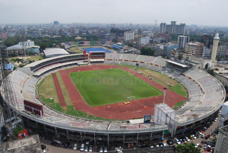 Bangabandhu National Stadium i Dhaka _ royaltyfri foto