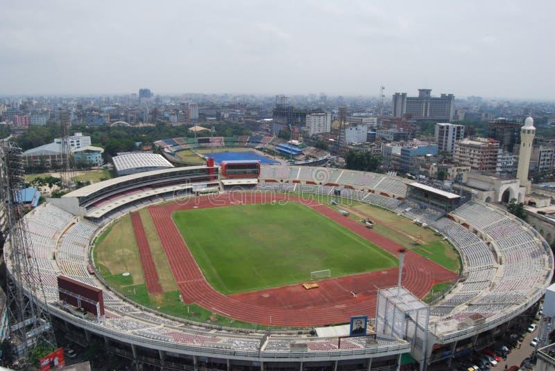 Bangabandhu National Stadium w Dhaka Bangladesz obraz stock