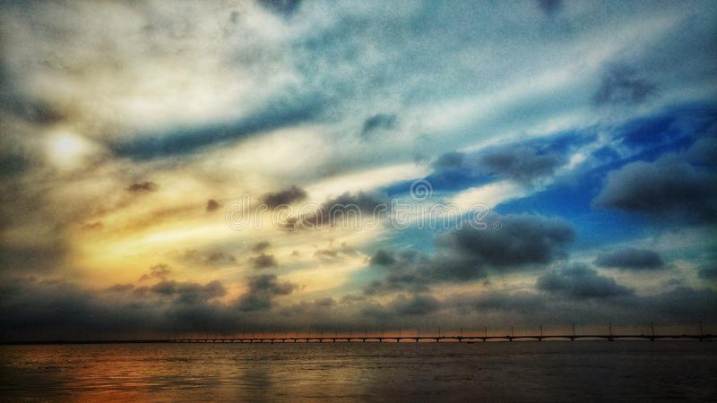 Bangabandhu setu royalty free stock photography