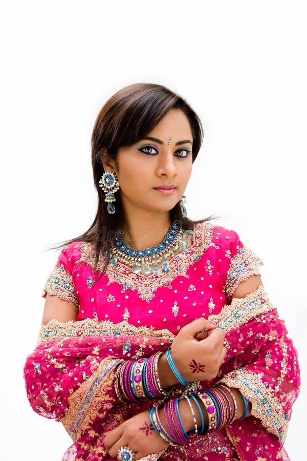 bangali美丽的新娘 免版税图库摄影