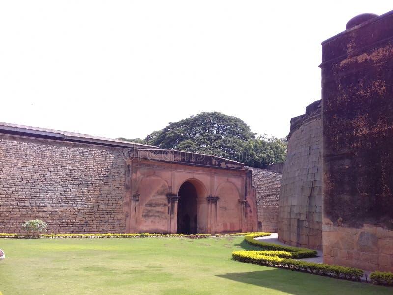 Bangalore fort, Karnataka, India stock photography