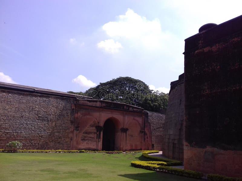 Bangalore Fort, India. Bangalore Fort view at Bangalore India stock photo