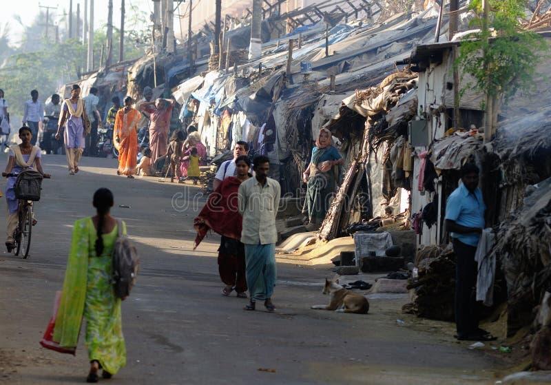 bangalore ind slamsy zdjęcie stock