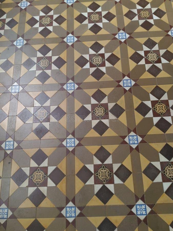Bangalore, Karnataka, India - November 23 2018 Ancient floor designs royalty free stock image