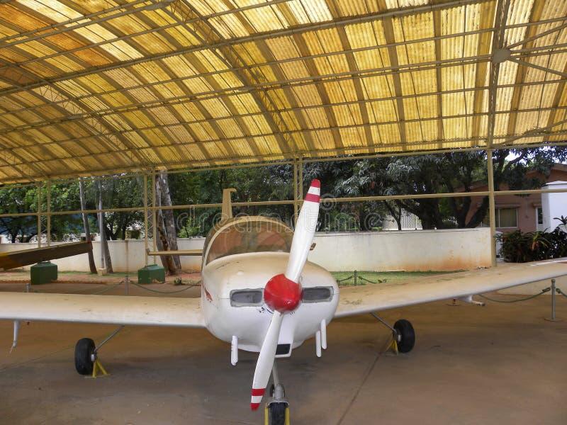 Bangalore Karnataka, Indien - Januari 1, 2009 Hansa flygplan med kapacitet för dagnattflyg arkivfoton