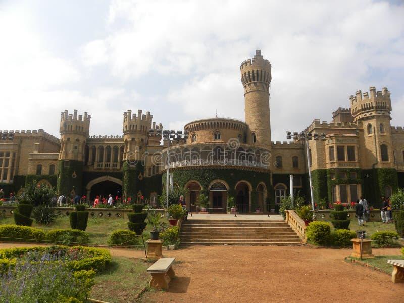 Bangalore Karnataka, Indien - November 23 2018 Bangalore slottpanoramautsikt arkivbild