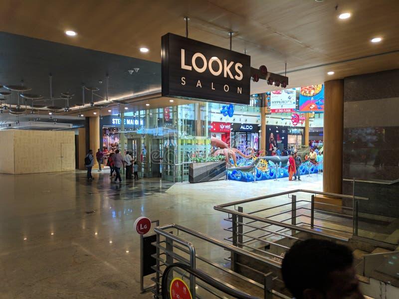 Bangalore malls. Building mall city shopping orion bangalore malls royalty free stock images
