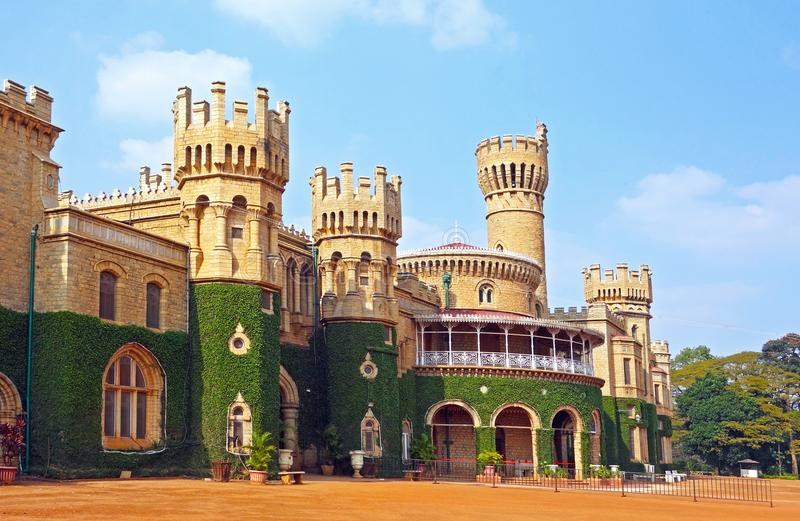 Bangalore pałac, Bangalore, Karnataka stan, India fotografia royalty free