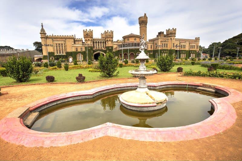 Bangalore Palace, India. Bangalore palace and his green gardens, Karnataka, India stock photos