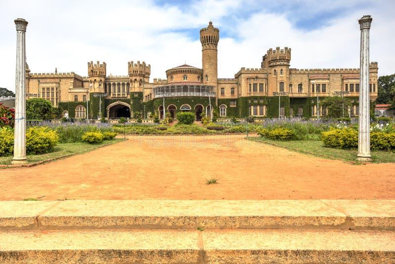 Bangalore Palace, India. Bangalore palace and his green gardens, Karnataka, India royalty free stock photo