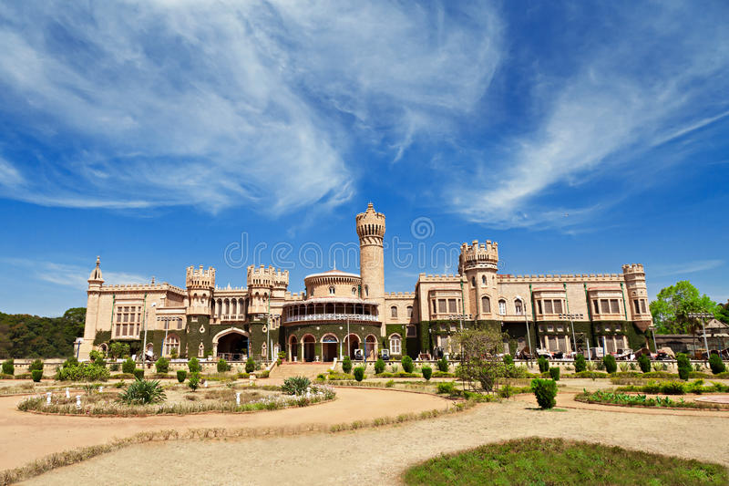 Bangalore slott, Indien arkivbilder
