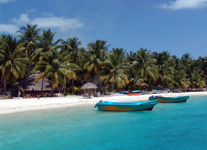 bangaram νησί της Ινδίας lakhwadeep στοκ εικόνα με δικαίωμα ελεύθερης χρήσης