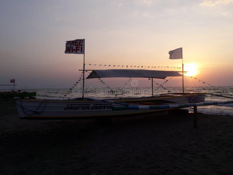 Bangka y x28; Boat& x29; fotografía de archivo