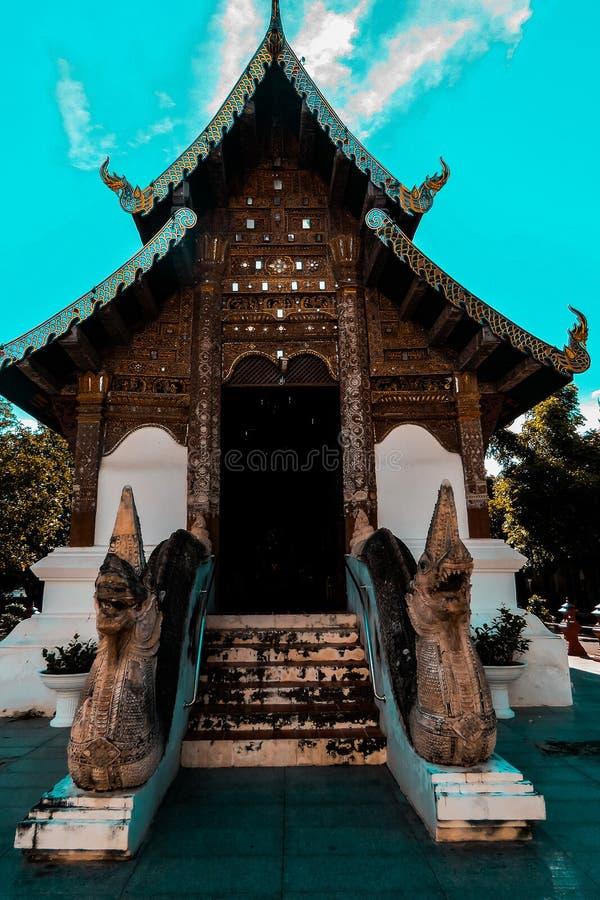 Bangkok świątynia Szmaragdowy Buddha - obraz stock
