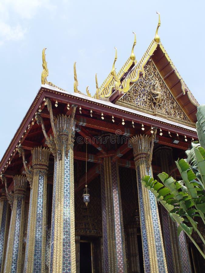 bangkok богато украшенный Таиланд стоковая фотография rf