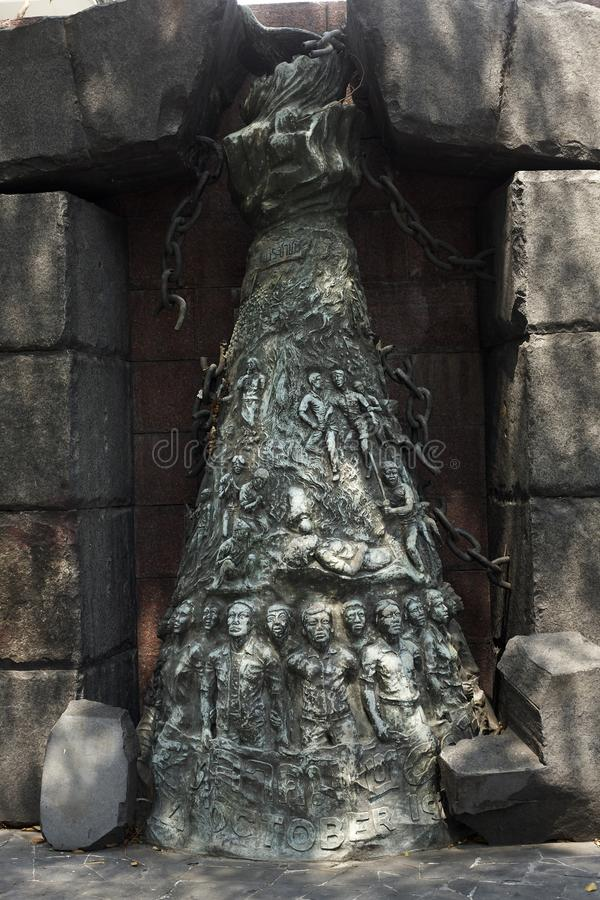 Таиланд, Бангкок Мемориал в университете Thammassat стоковое фото rf