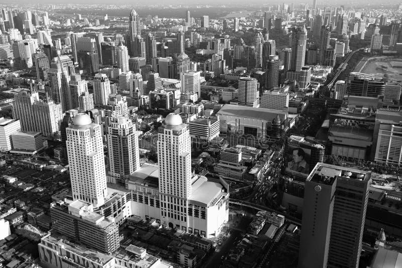 Bangkok from Bayok Sky hotel royalty free stock photos