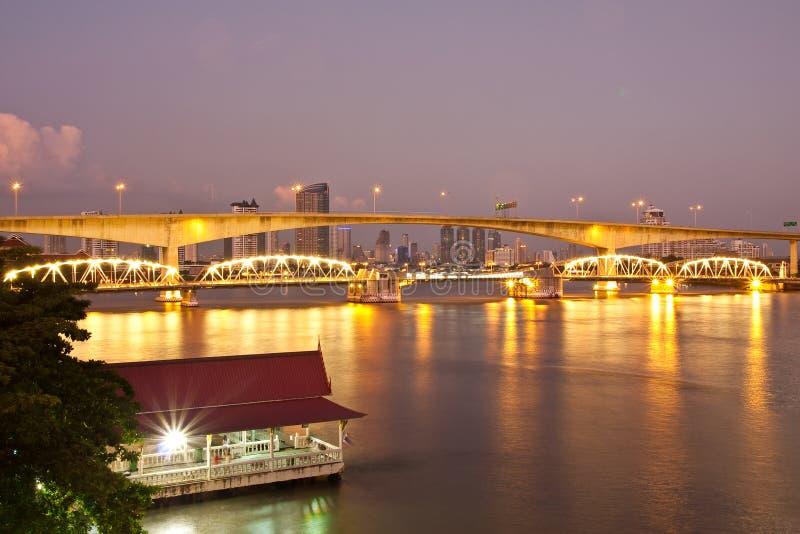 bangkok bridżowy Thailand zdjęcia stock