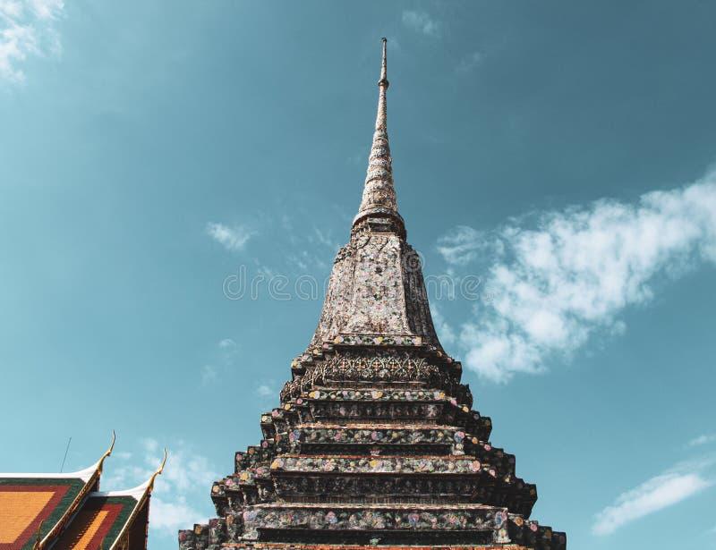 bangkok buddistiskt tempel thailand arkivbild