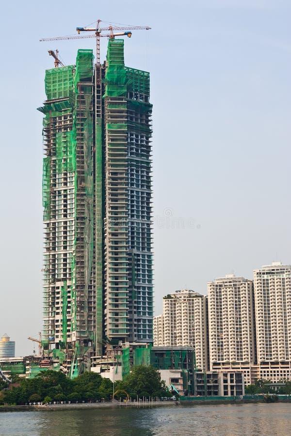bangkok budynku budowa Thailand obrazy stock