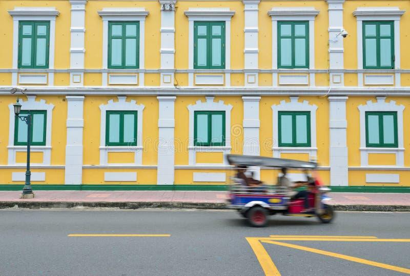bangkok budynku samochodowy Thailand tuk zdjęcie stock