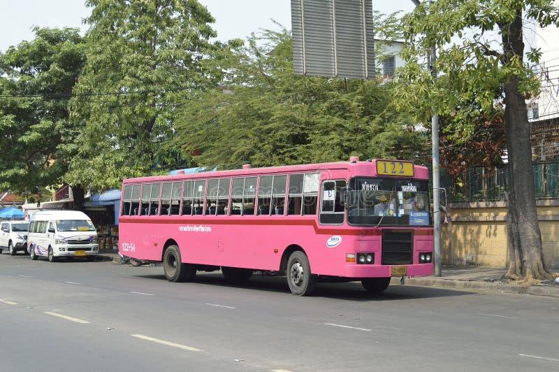 bangkok bussbil arkivfoto