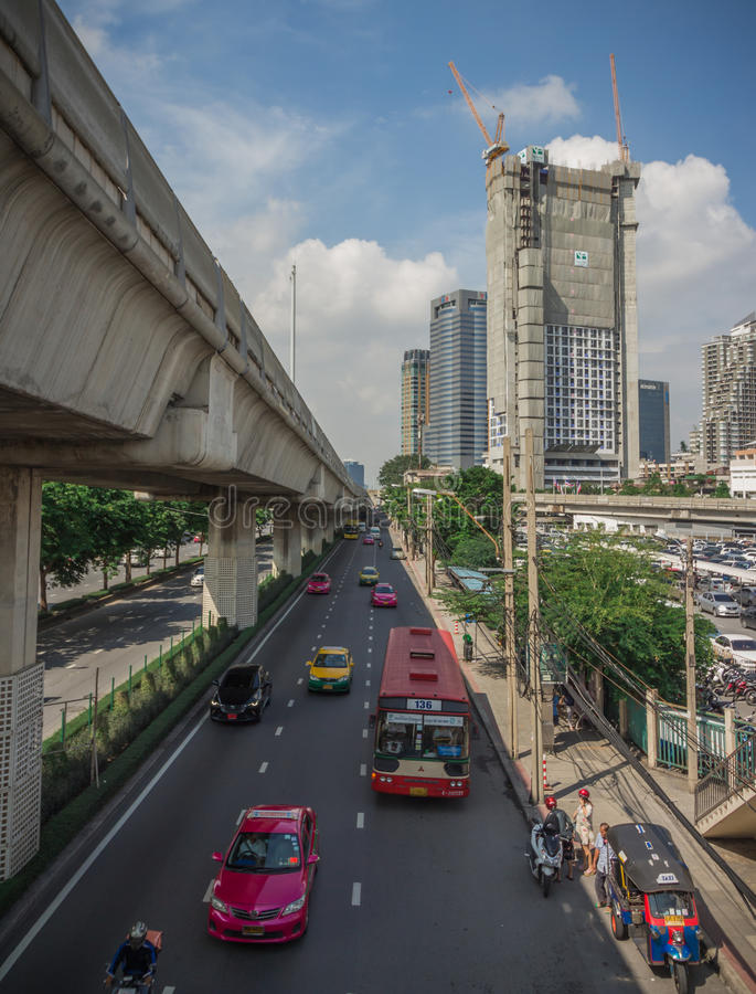 Bangkok is the capital. royalty free stock images
