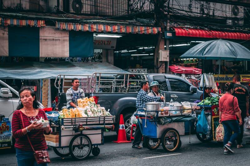 Bangkok, 12 11 18: Chinatown royalty-vrije stock afbeelding