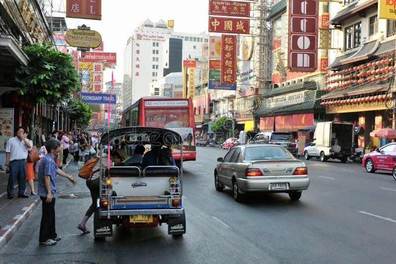 Download Bangkok Chinatown editorial stock image. Image of china - 23831214