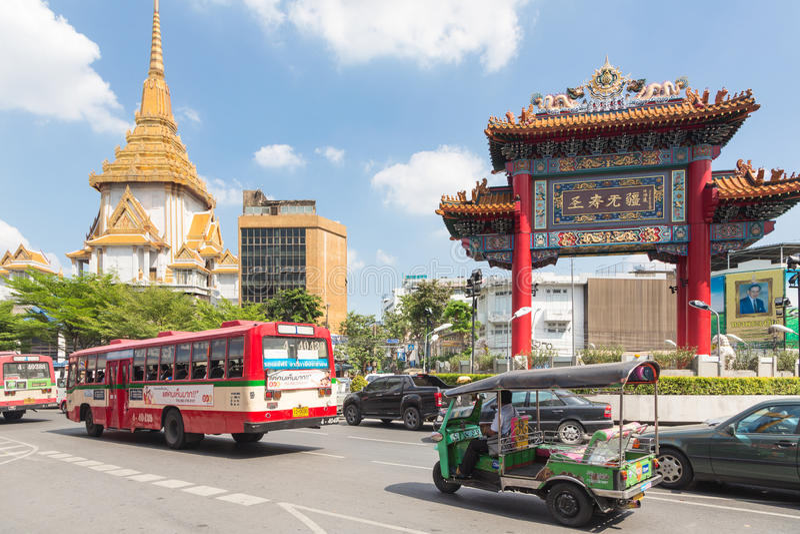 bangkok Chinatown fotografia royalty free