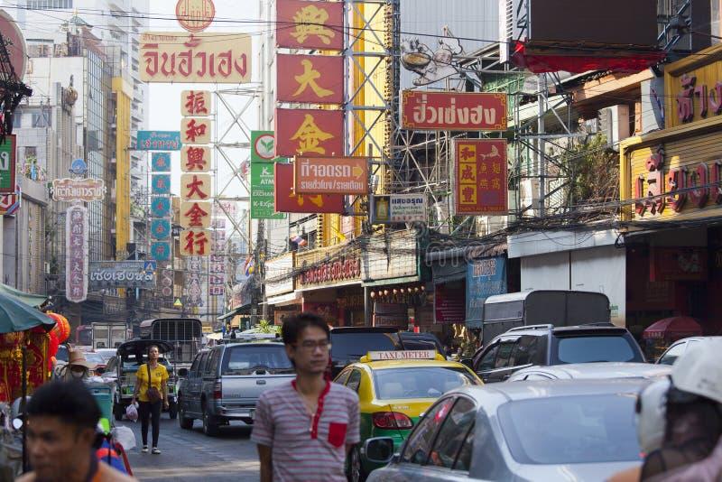 bangkok Chinatown s zdjęcie stock