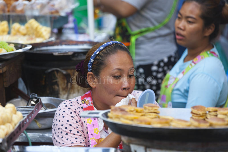 bangkok Chinatown s fotografia stock