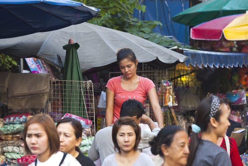 bangkok Chinatown s obrazy royalty free