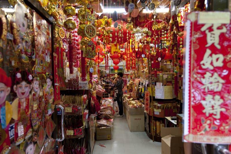 bangkok Chinatown s zdjęcie royalty free
