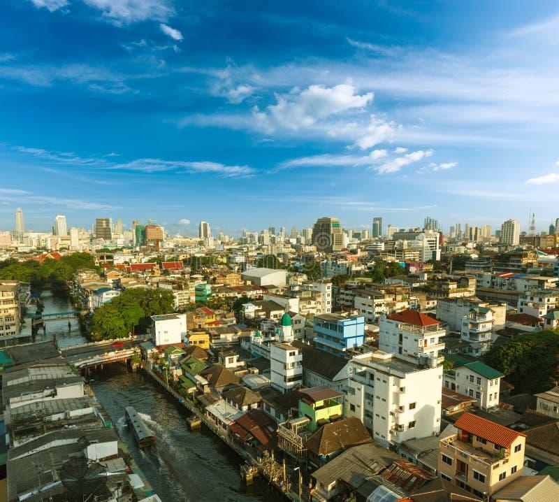 Download Bangkok cityscape stock image. Image of cityscape, sunset - 25167923