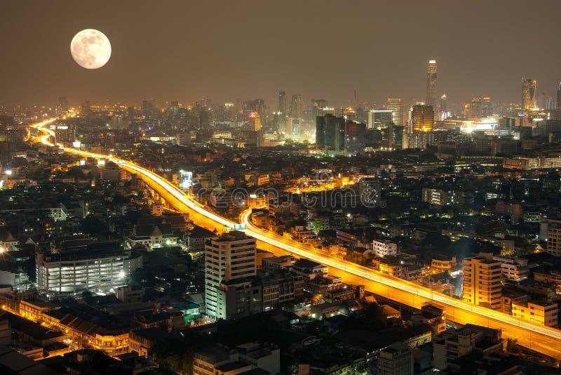 Download Bangkok cityscape stock image. Image of southeast, landscape - 27383775