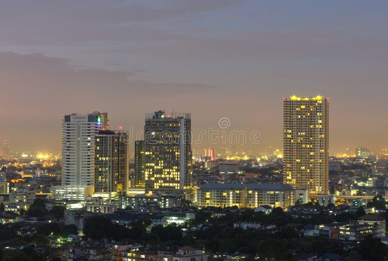 Download Bangkok Cityscape At Twilight Time. Stock Photo - Image: 36221692