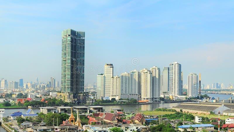 Download Bangkok cityscape stock image. Image of bangkok, riverbank - 33524761