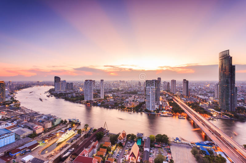 Download Bangkok Cityscape stock image. Image of beauty, downtown - 56339833
