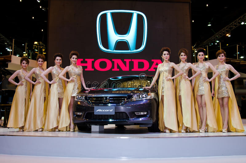 El coche de Honda Accord fotografía de archivo libre de regalías