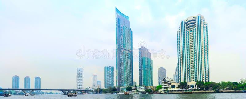 Bangkok de stad in stock foto