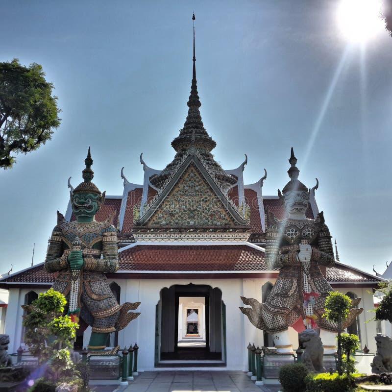 @Bangkok de Wat Jang photos libres de droits