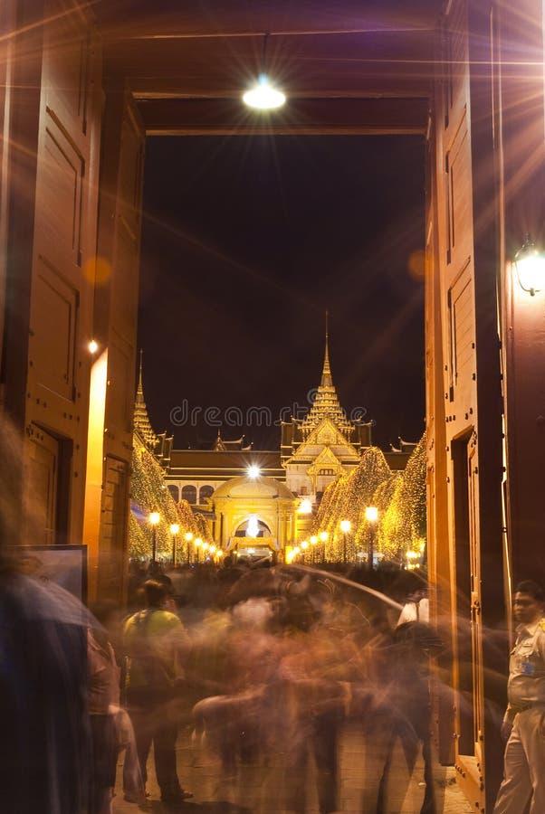 Download Bangkok - Dec 7:Tourists Enjoy Thenight AtGrand Pa Editorial Stock Photo - Image: 22432643