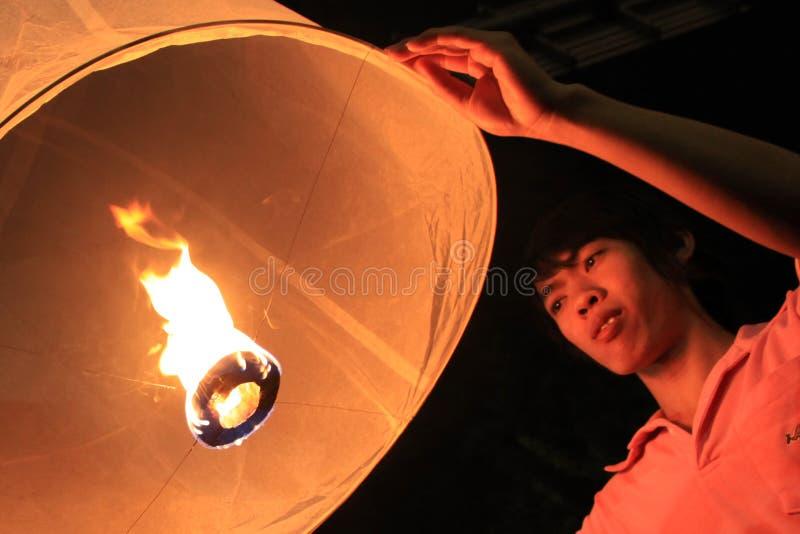 BANGKOK - 5 DEC: De Viering van de Verjaardag van de koning - Thailand 2010 royalty-vrije stock fotografie