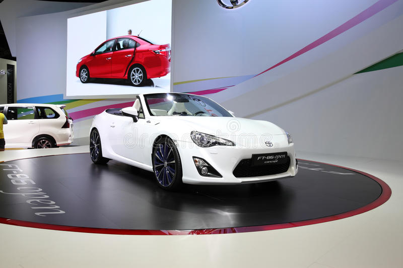 BANGKOK   December 11: Toyota FT 86 Open Concept Car On Display At The  Motor Expo 2015 On December 11, 2015 In Bangkok, Thailand.