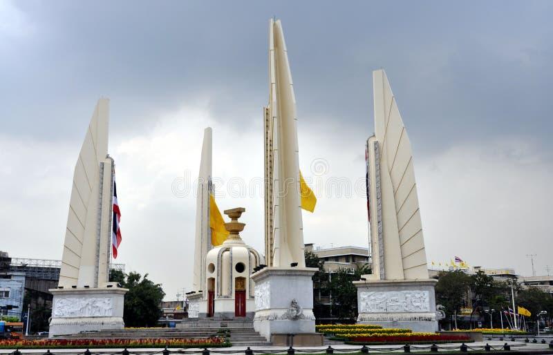 bangkok demokratimonument thailand royaltyfria foton