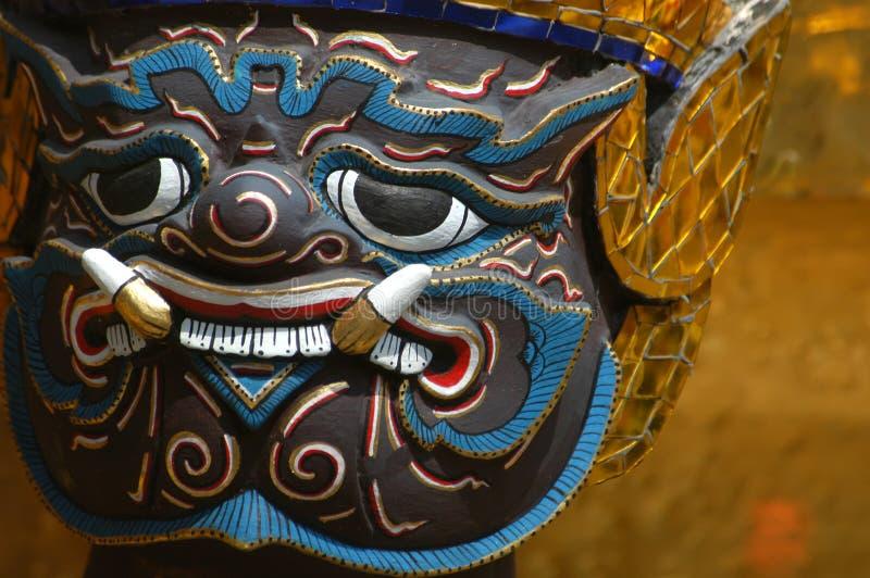 bangkok demon royaltyfri foto