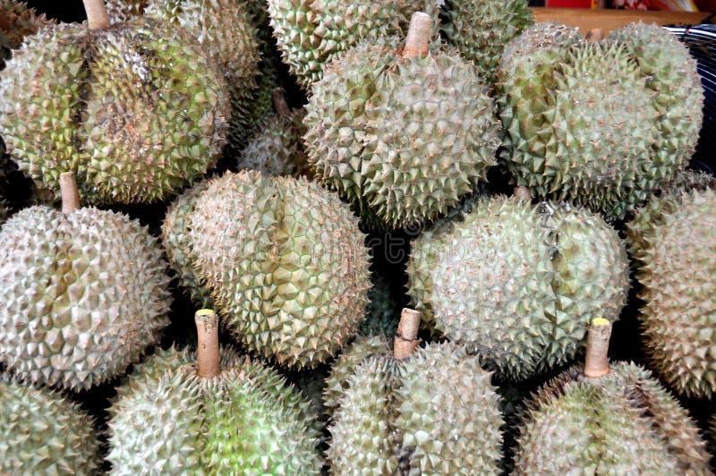bangkok durianfrukt thailand arkivbild