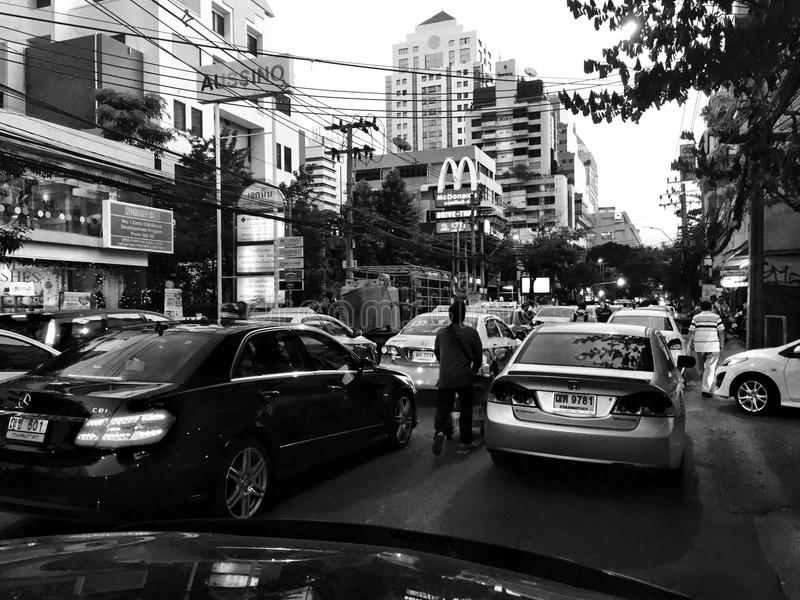 Bangkok evening royalty free stock image